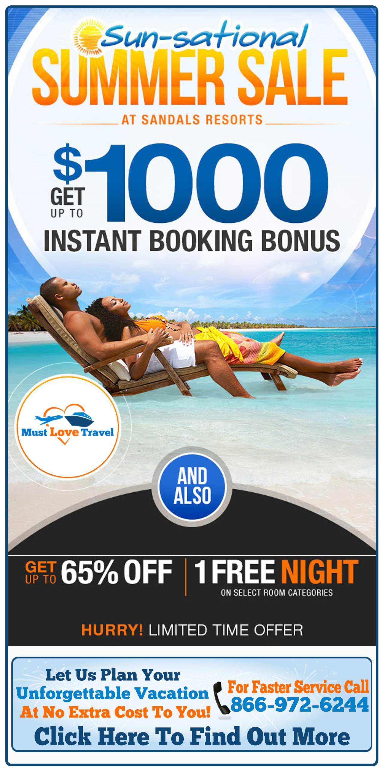783174b13f13d Sun-sational Summer Sale At Sandals Resorts - Must Love Travel