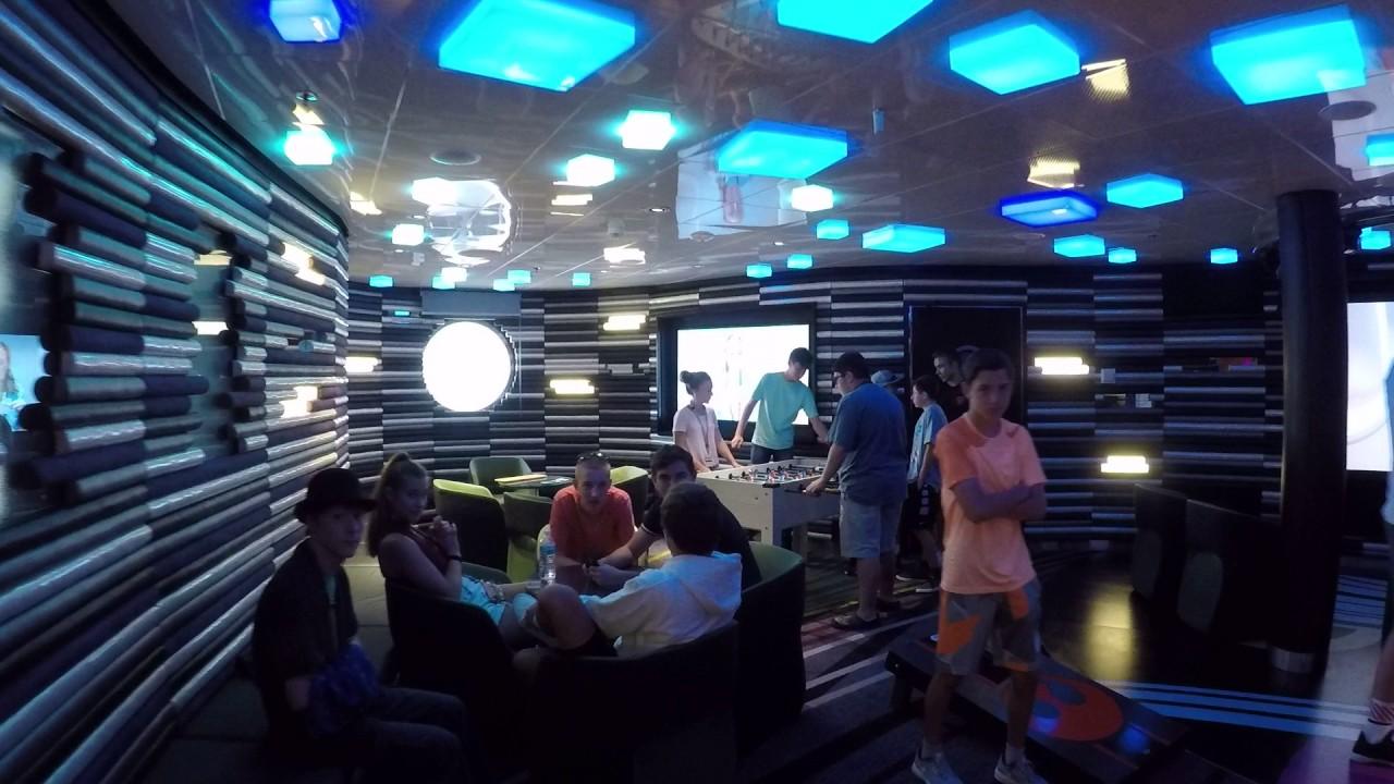 Vibe Teen Club On Disney Cruise Lines